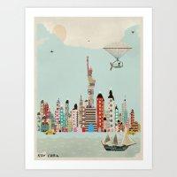 visit new york Art Print