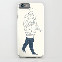 girl with an ice cream iPhone 6 Slim Case