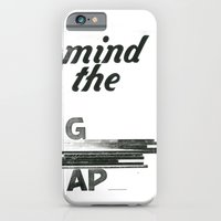 iPhone & iPod Case featuring mind the gap by edesigns
