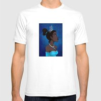 Tiana Mens Fitted Tee White SMALL