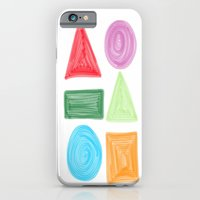 iPhone & iPod Case featuring shapes by Hadeel alharbi