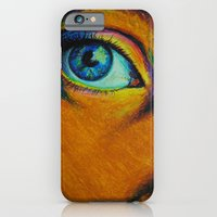 iPhone & iPod Case featuring Stare by Laura Bubar Original Artwork