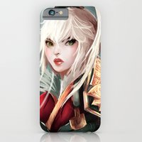 iPhone & iPod Case featuring Dragonblade Riven by Elena Gianniki