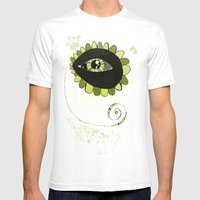 See No Evil Mens Fitted Tee White SMALL
