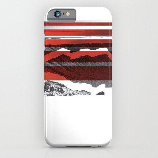Red Terrain iPhone & iPod Case