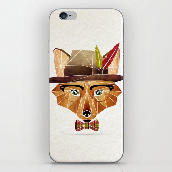 mr. fox iPhone & iPod Skin