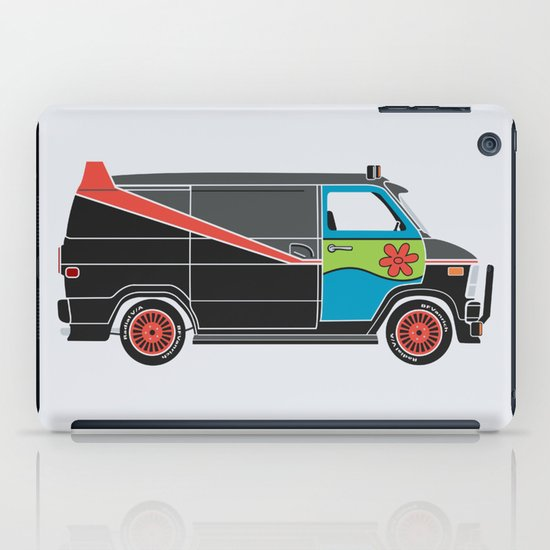 The Mess Up At The Body Shop iPad Case