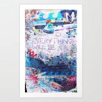 Tybee Island, GA Art Print