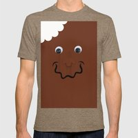 Moschino Popsicle  Mens Fitted Tee Tri-Coffee SMALL