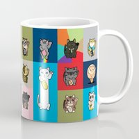 Lucky Cats - LOLcats Mug