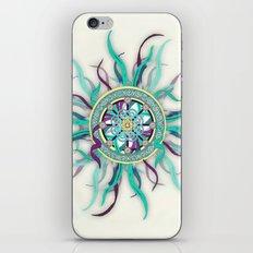 Colorful Dharma Ribbon Mandala iPhone & iPod Skin
