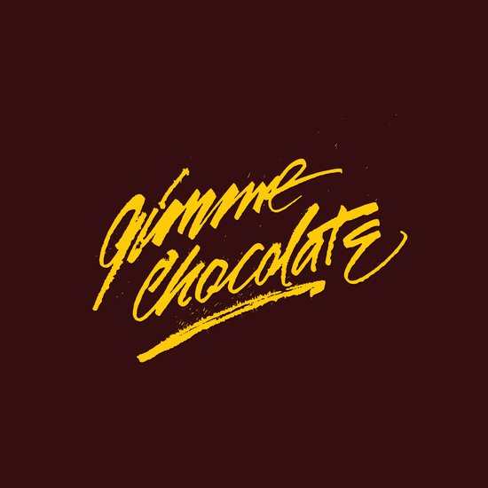 Gimme Chocolate Art Print