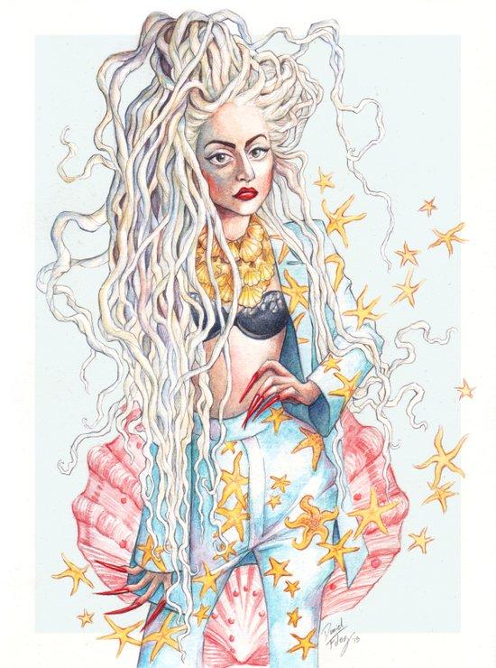 Venus' Gypsy Art Print