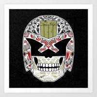 Day of the Dredd - Black Variant Art Print