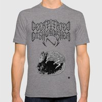 Decapitated By Dishwashe… Mens Fitted Tee Tri-Grey SMALL