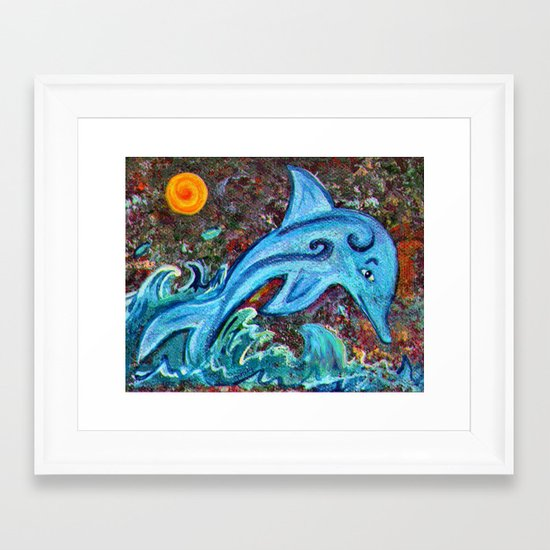 Dolphin Framed Art Print