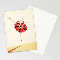 The Ballance ( Girl on fire) Stationery Cards