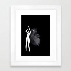 I loving You Framed Art Print