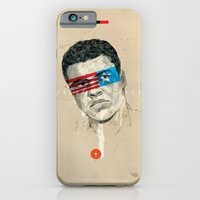 iPhone Cases featuring Superheroes SF by Blaine Fontana