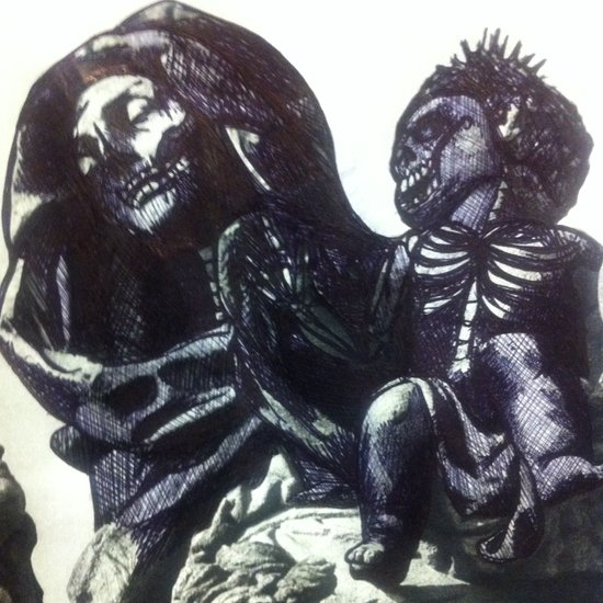 The  Virgin Zombie Canvas Print