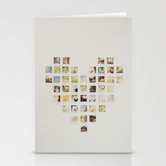 Polaroid Love Stationery Card