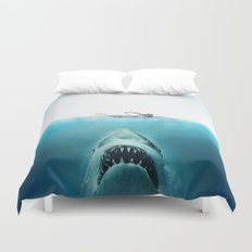 JAWS Duvet Cover