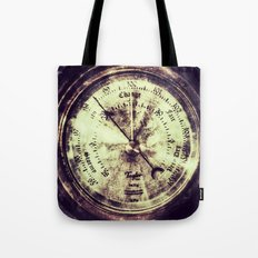 A Change In Weather  |  Antique Barometer Tote Bag