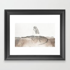 steersman Framed Art Print