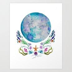 March Moon Art Print