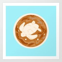turtle Art Prints featuring Turtle by Nancy Smith