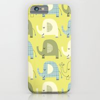 iPhone & iPod Case featuring E is for Elephant by shiny orange dreams