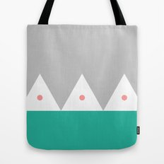 Triangles with Dots Geometric Modern  Tote Bag