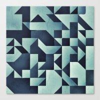 :: Geometric Maze V :: Canvas Print