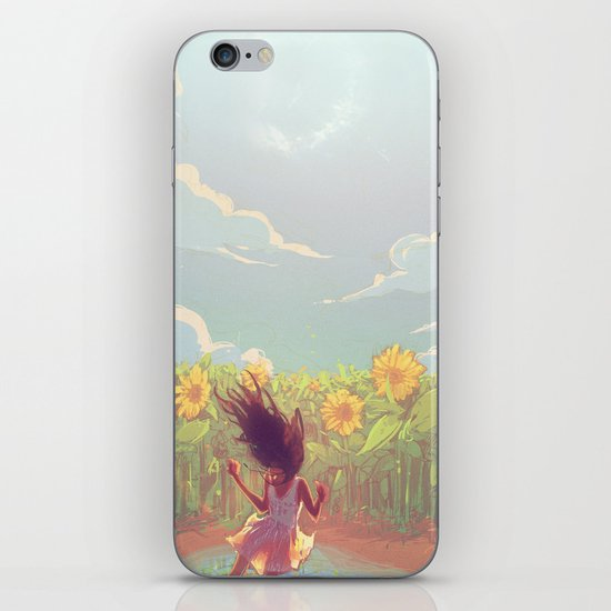 The lights iPhone & iPod Skin
