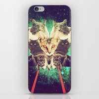 Galactic Cats Saga 1 iPhone & iPod Skin