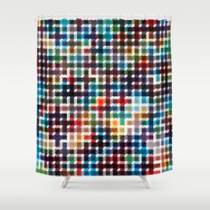 Rope Geometric Art Print. Shower Curtain