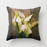 Simplicity Is The Ultima… Throw Pillow