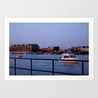 Bay City, Michigan Art Print