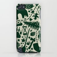 iPod Touch Cases featuring C@MP by Dylan Morang