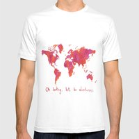 Oh, Darling Mens Fitted Tee White SMALL