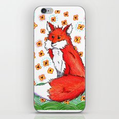 Phone or Fox iPhone & iPod Skin