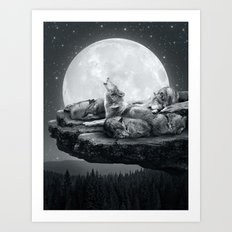 Echoes Of A Lullaby Art Print
