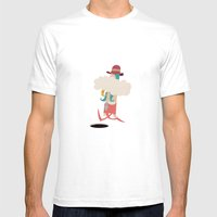 Seriously, Smoking Can K… Mens Fitted Tee White SMALL
