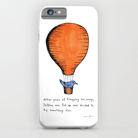 Jeffrey was fed up iPhone & iPod Case