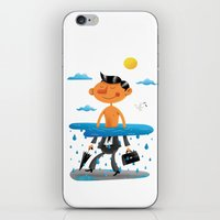 Walk on the Bright Side iPhone & iPod Skin