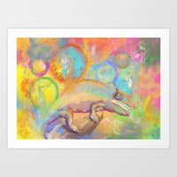 Chameleon Dreams Art Print