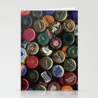 Caps beer Stationery Cards