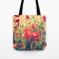 Morning Light - Poppy Fi… Tote Bag