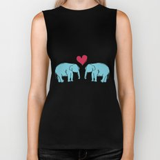 Elephant Love Biker Tank