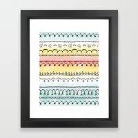 Frills & Fancies Framed Art Print